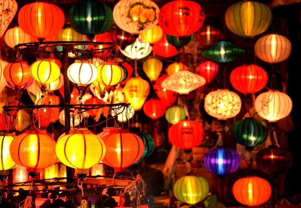 Vietnamese lanterns in Hoi an