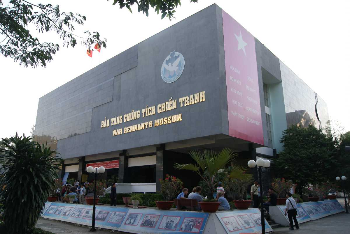 Main Building of the War Remnants Museum of Ho Chi Minh City