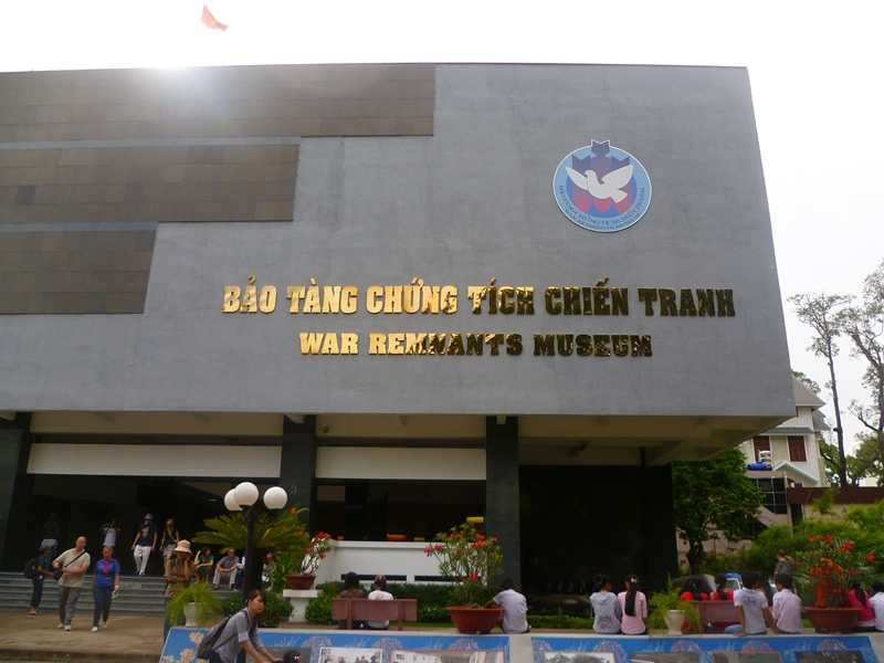 Cheap Places in Ho Chi Minh City, War Remnants Museum