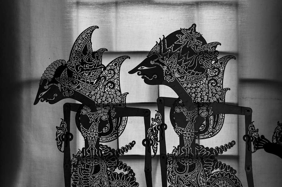 Wayang puppet art