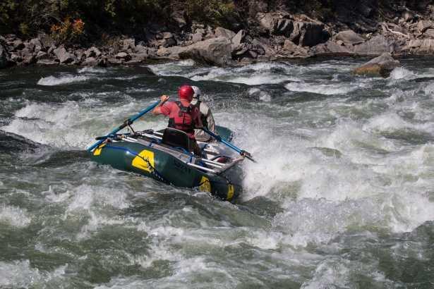 River Rafting at Dangme Chhu