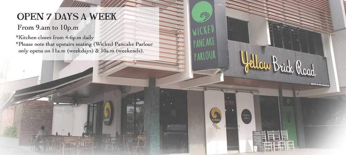 Wicked Pancake Parlour, Malaysia