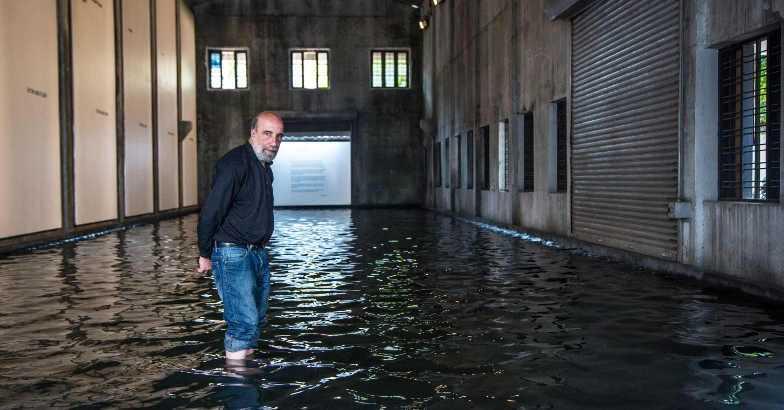 Kochi Biennale Raul Zurita sea of pain