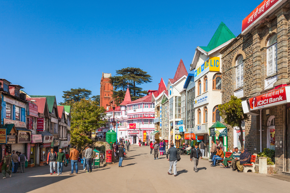 The Mall Road of Shimla | Location, Shops, Cafes - Holidify