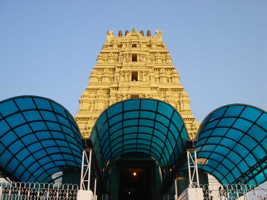 Architecture of Yadagirigutta