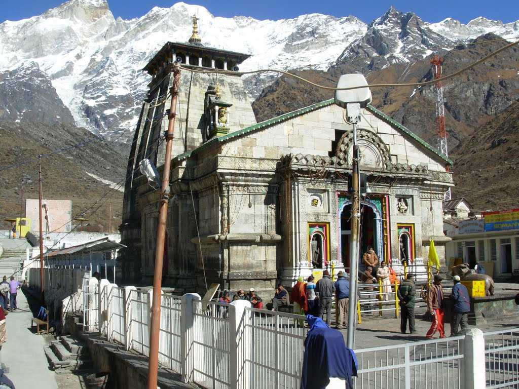 kedarnath temple The sacred portals of the kedarnath shrine in the himalayas will be re-opened on  april 29 the re-opening of the famous temple was.