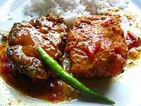 Local dishes of Haldia