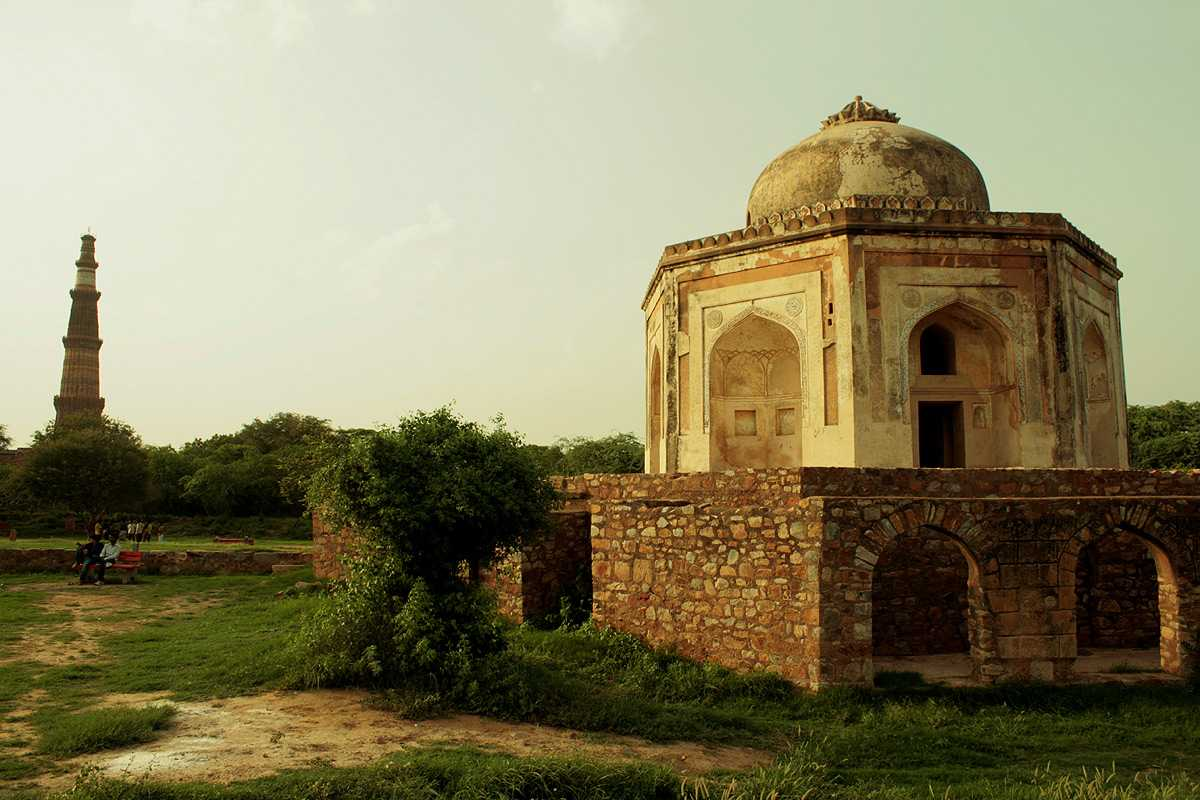Architecture of Mehrauli Archeological Park