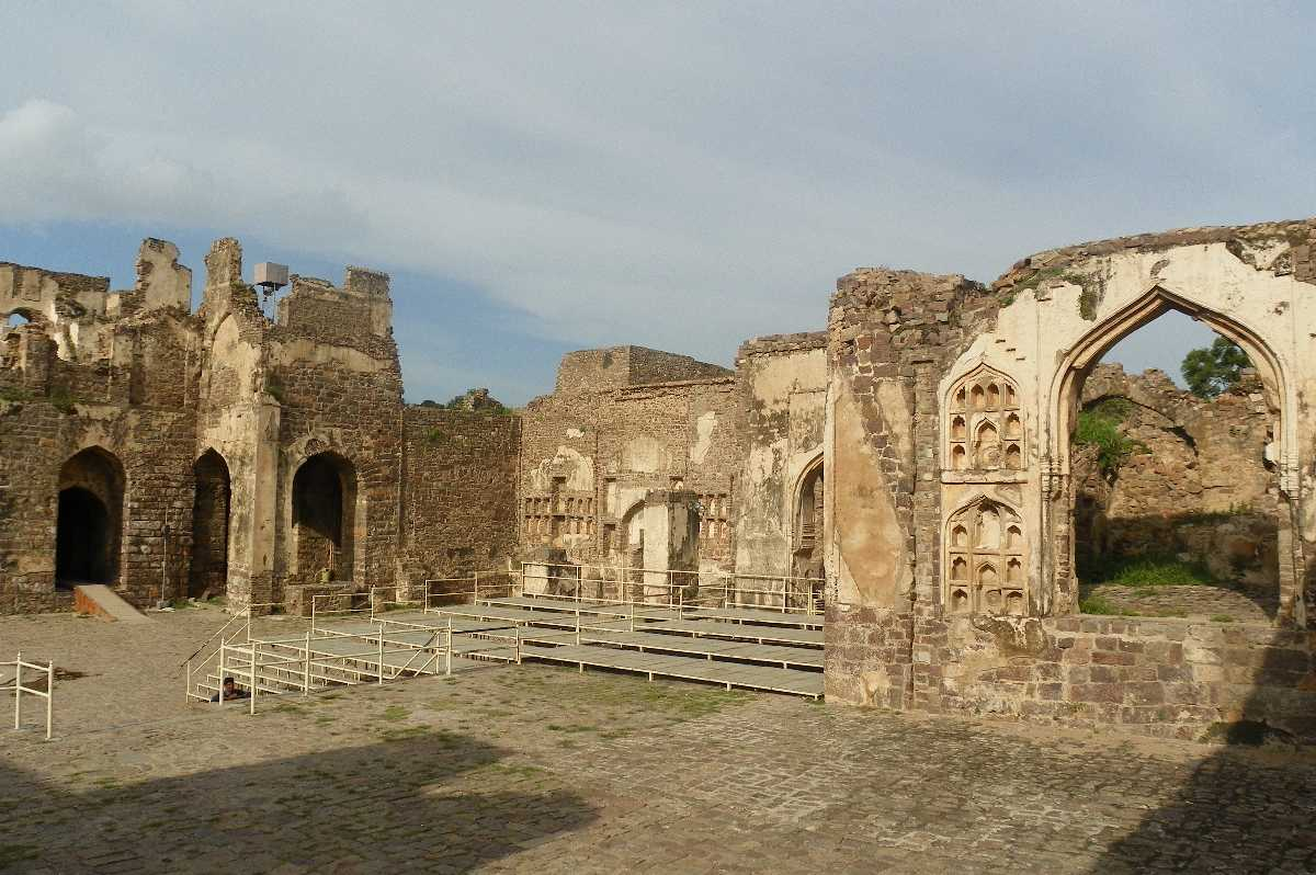 Golkonda Fort Hyderabad | Golkonda Fort timings, history ...