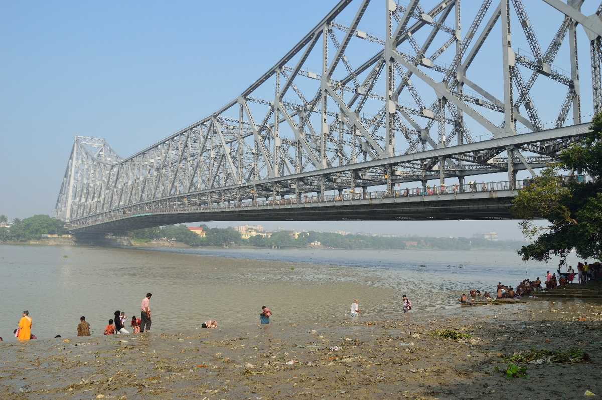 Howrah Bridge Kolkata Photo History Of Rabindra Setu