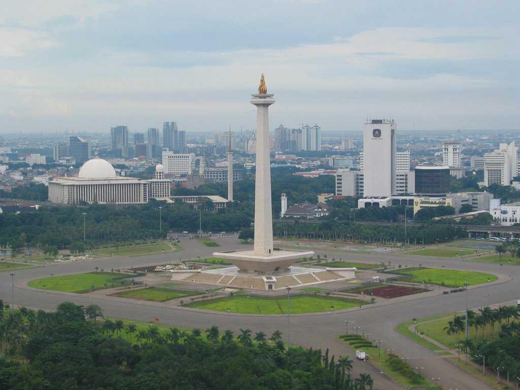 میدان مردکا شهر جاکارتا