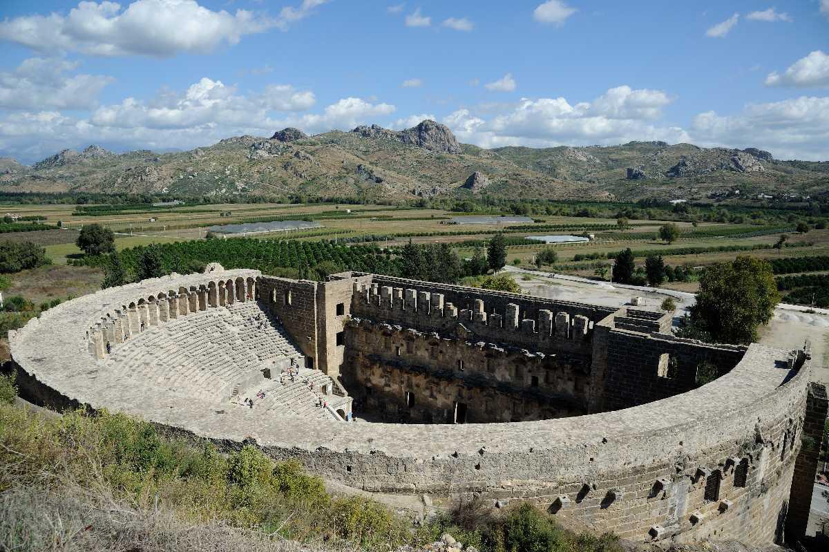 Antiphellos Theatre, Kas, Turkey  Antiphellos Theatre ...