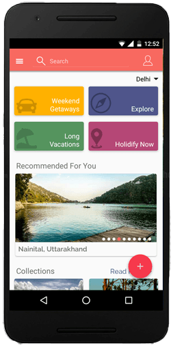 Holidify android app plan trip